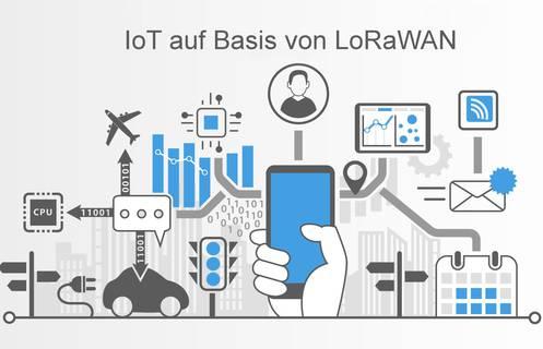 LoRaWAN<sup>TM</sup> &#x2013; Dank digitalem IoT-Funknetz nimmt die Smart City Gestalt an